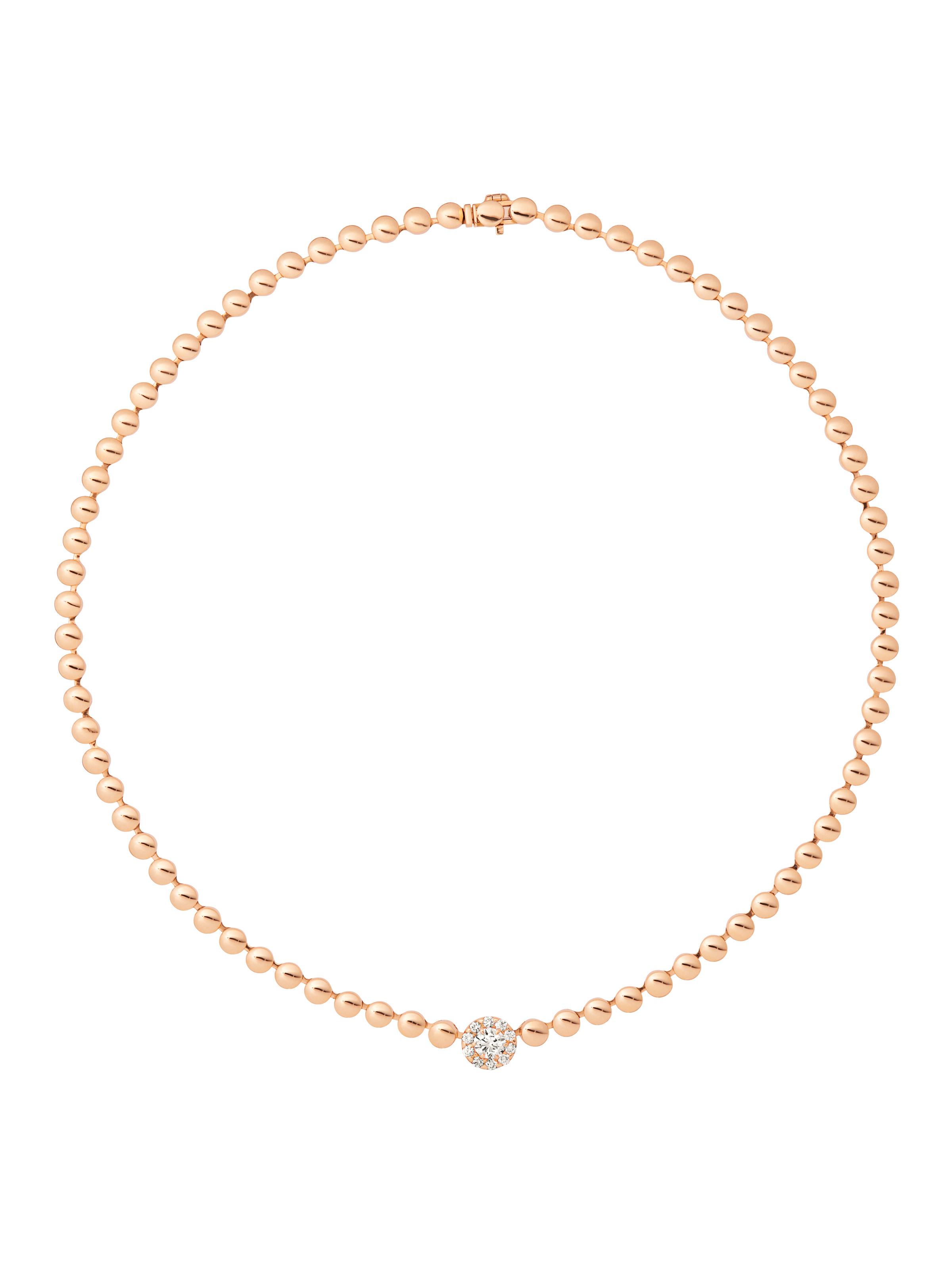Blu Crown necklace