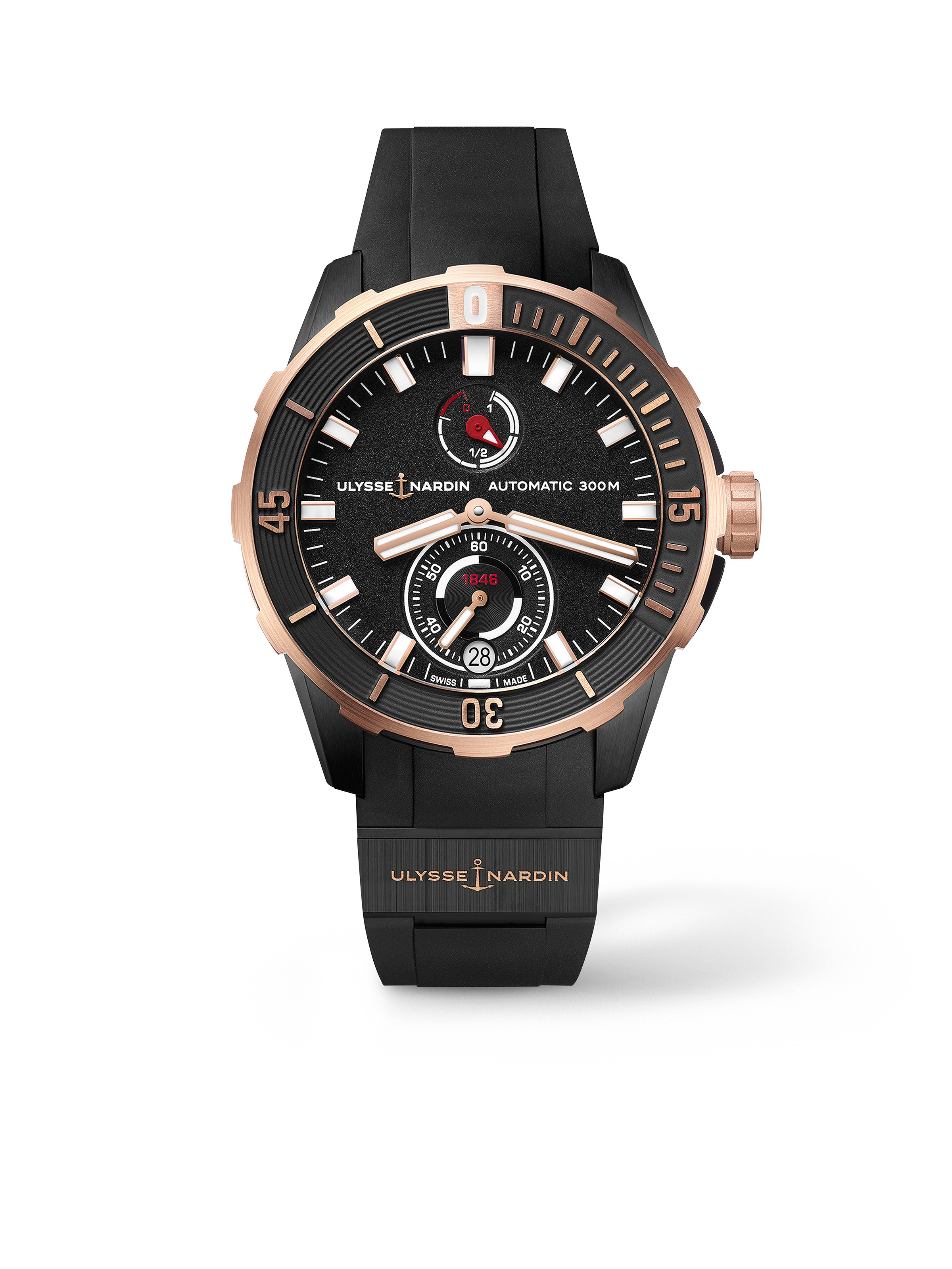 Diver Chronometer 44 mm Rose Gold