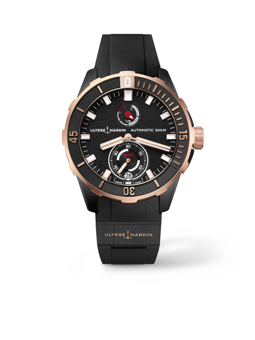 Diver Chronometer 44 mm Rose Gold 01