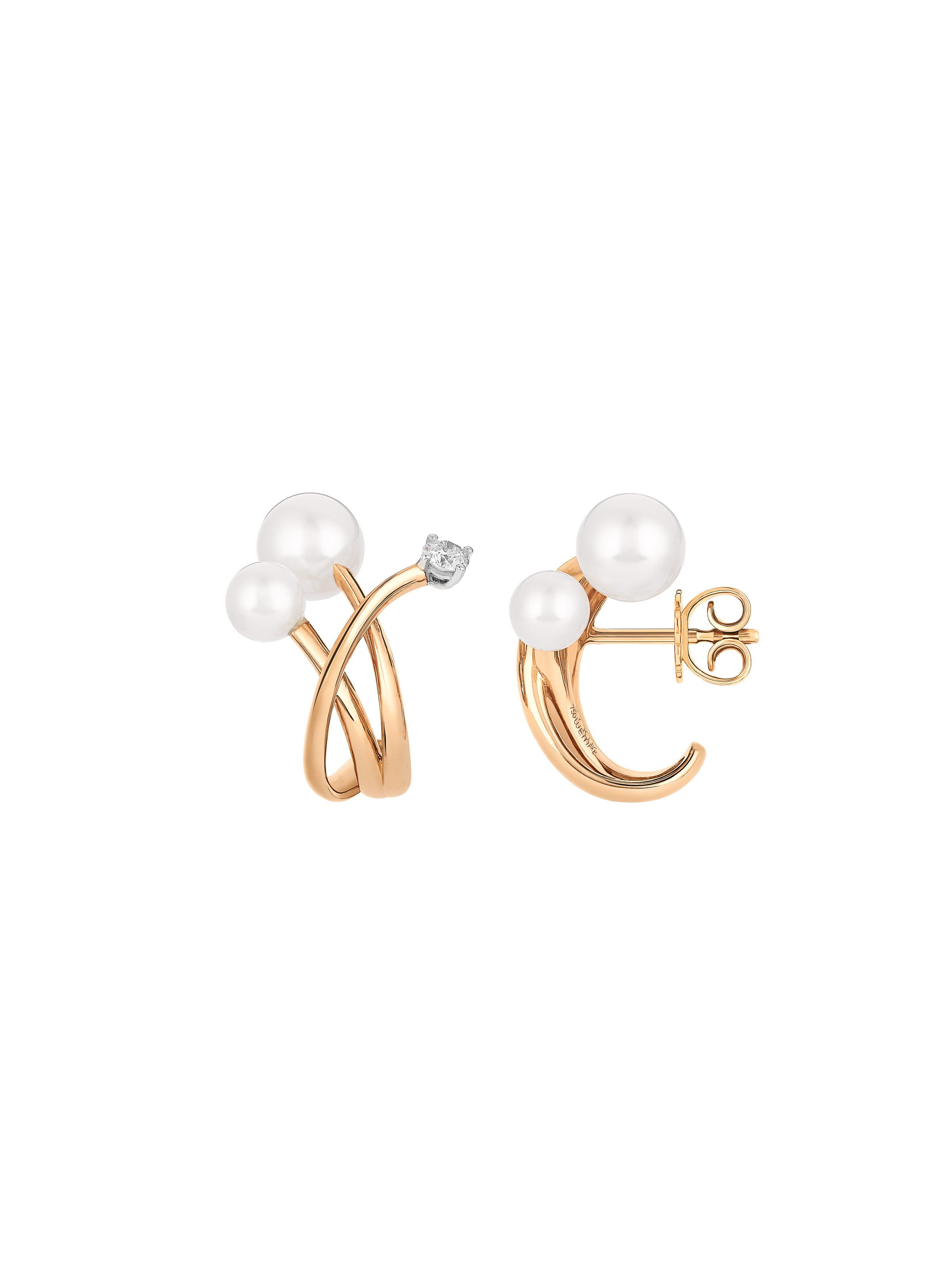 Ohrringe Puntino Pearls
