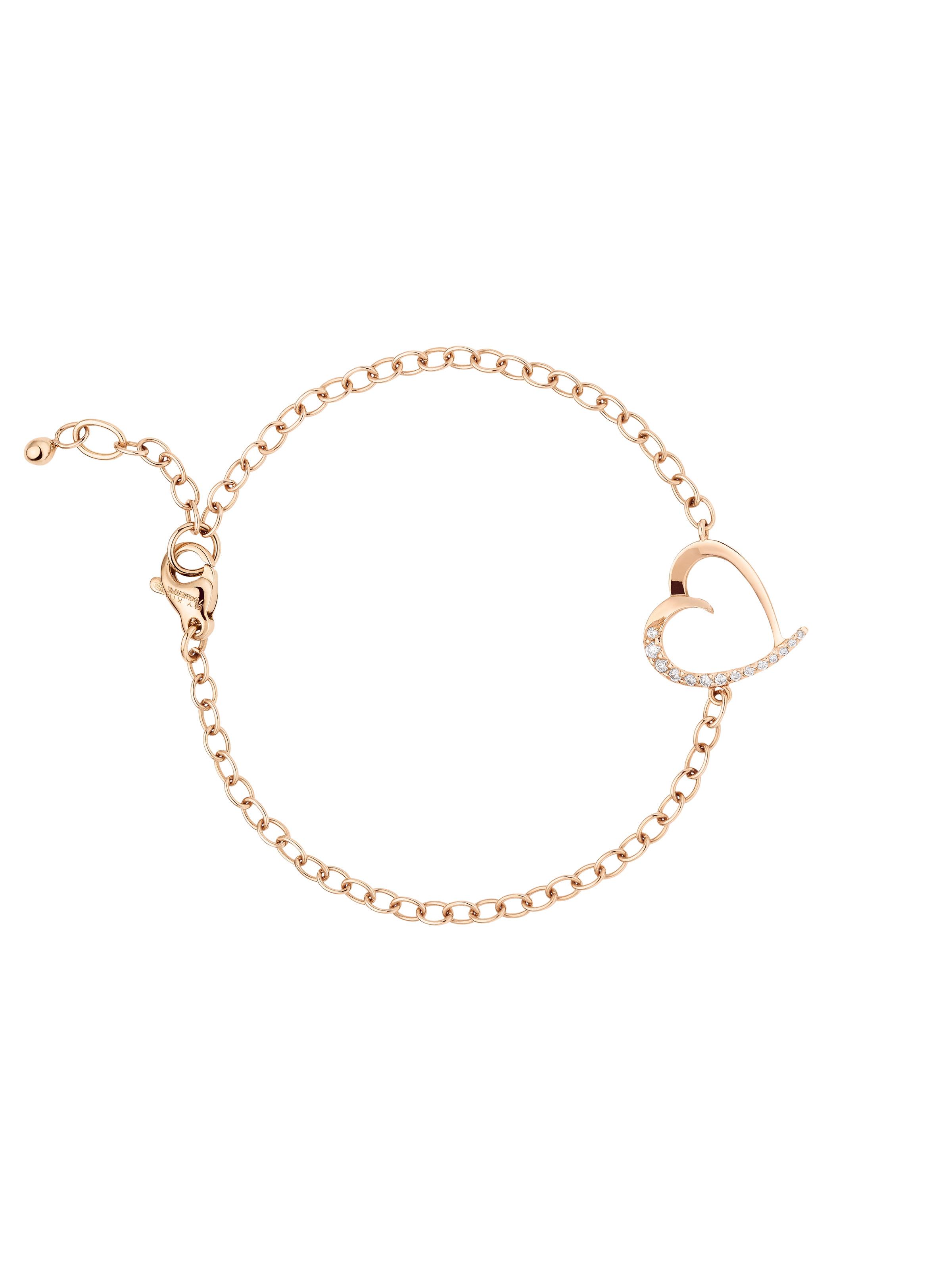 Armband Papillon Herz