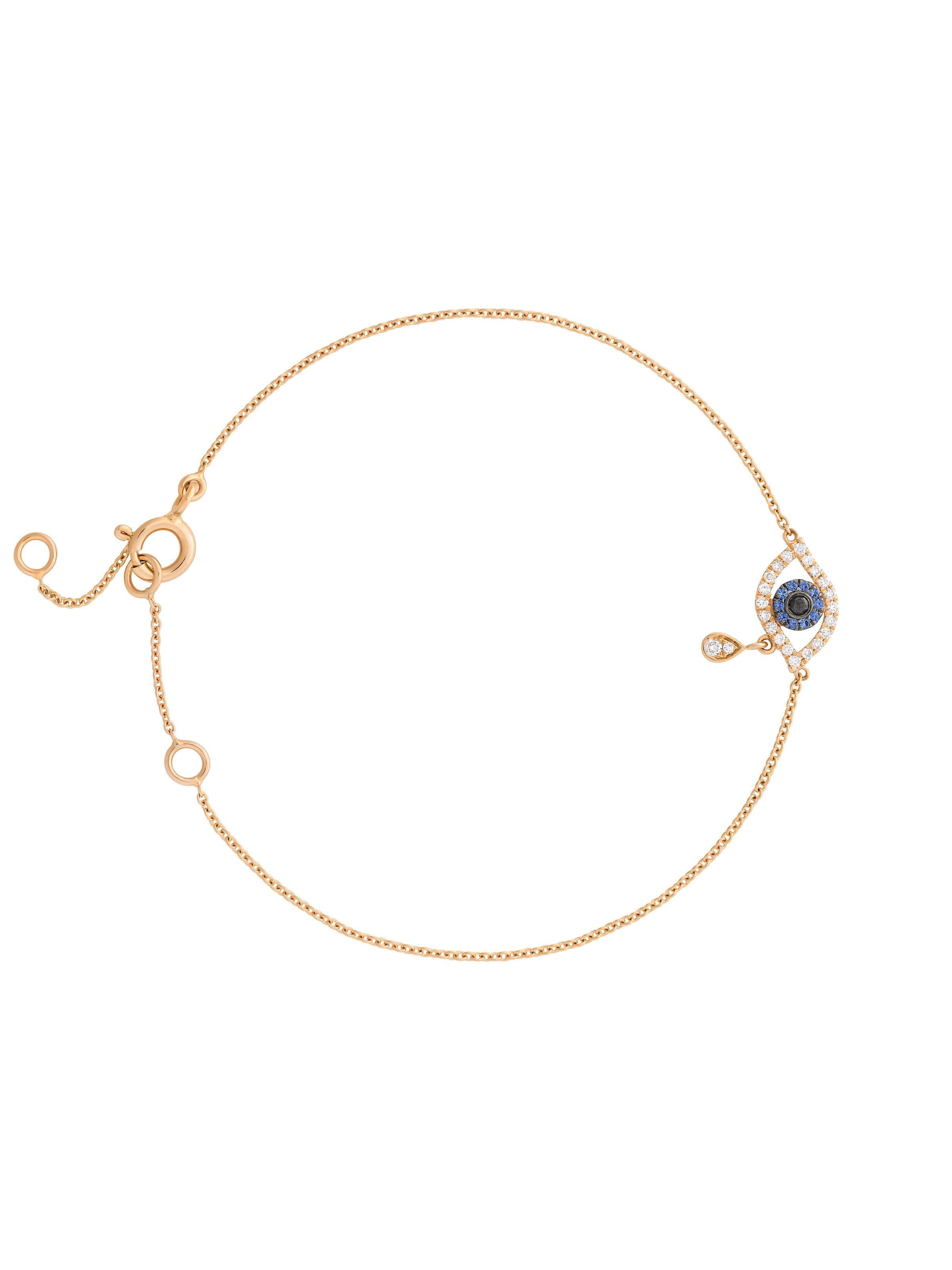 Minimalism eye bracelet