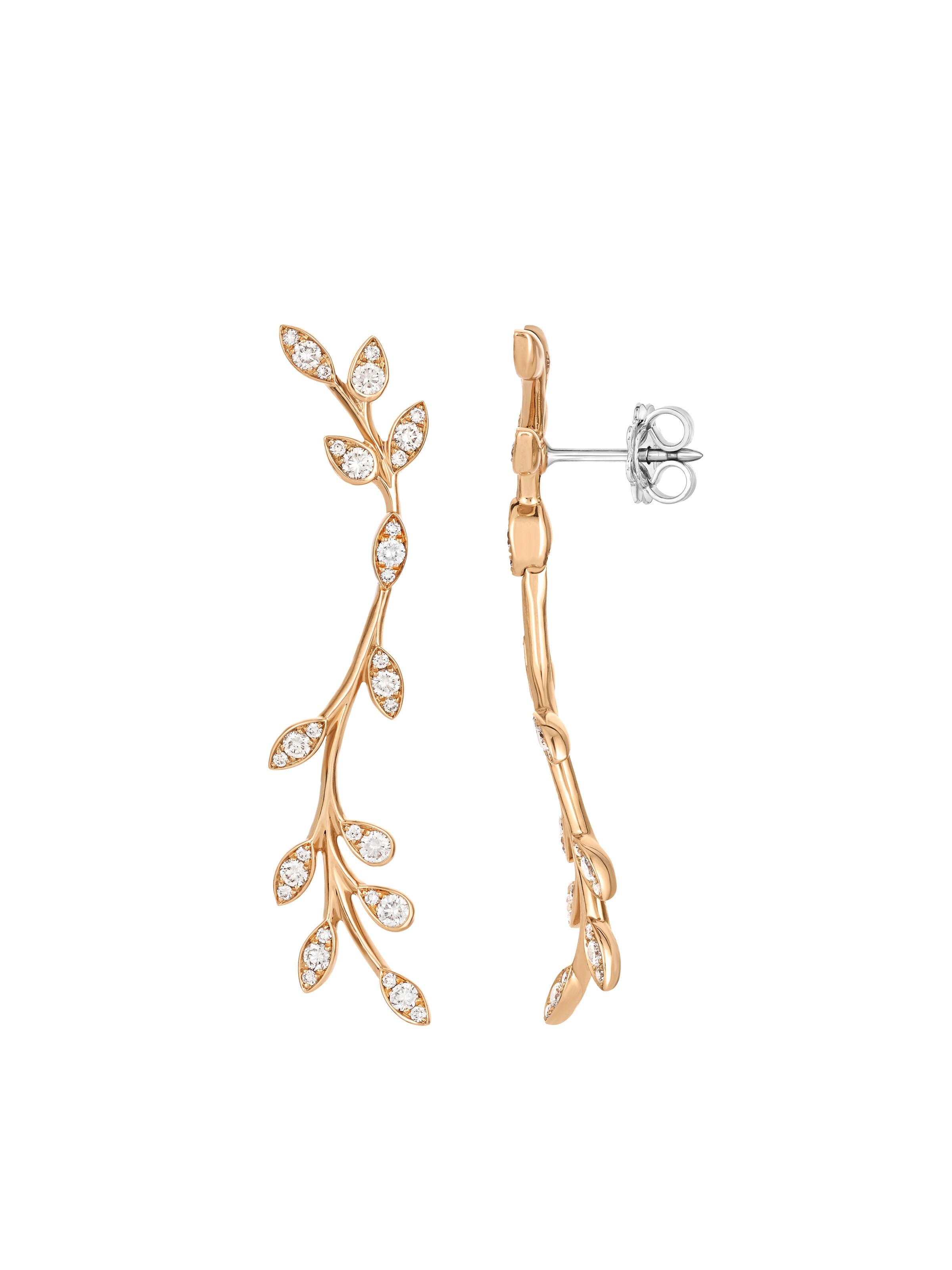 Flowery earrings