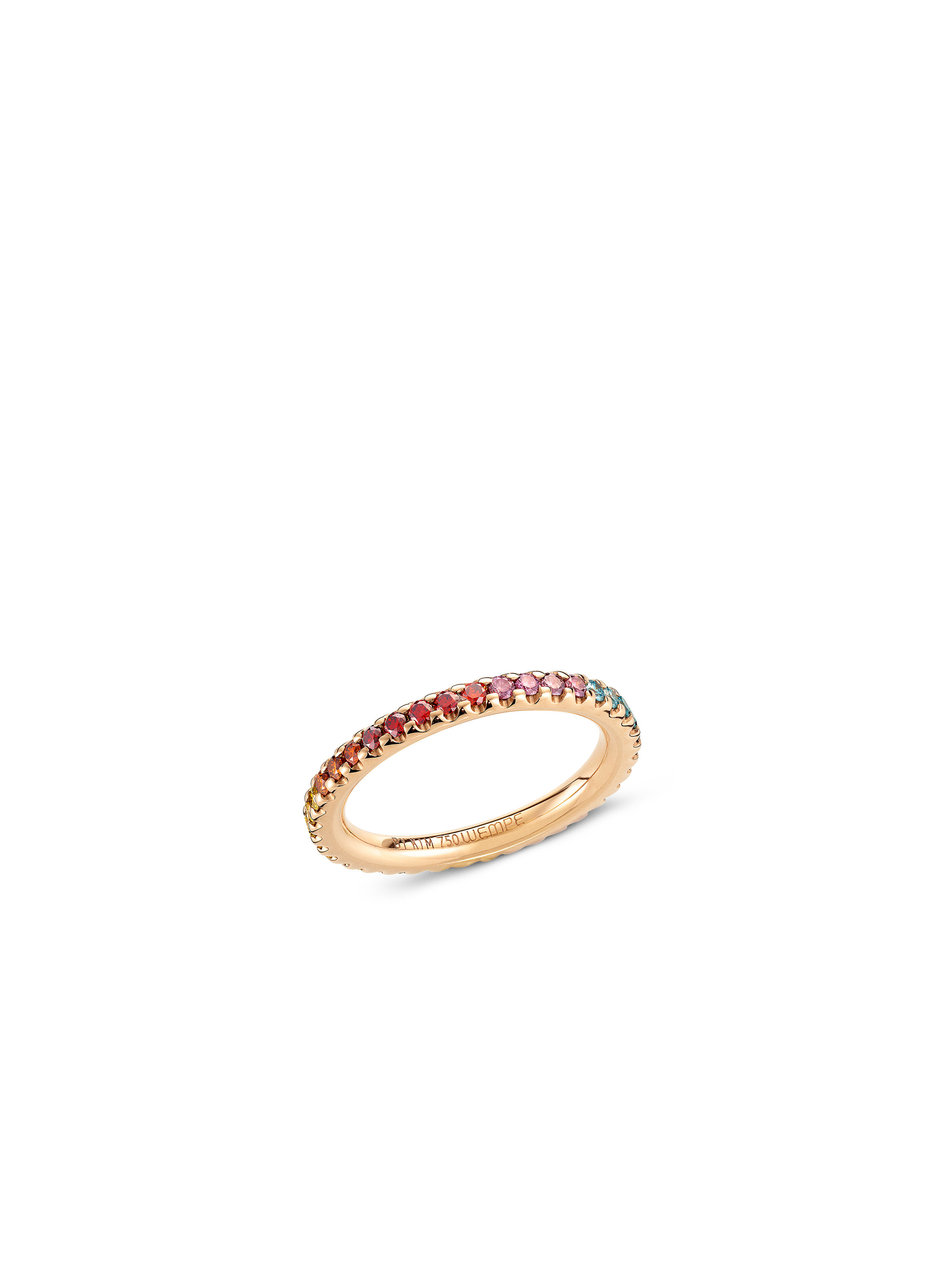 Ring Blu Rainbow