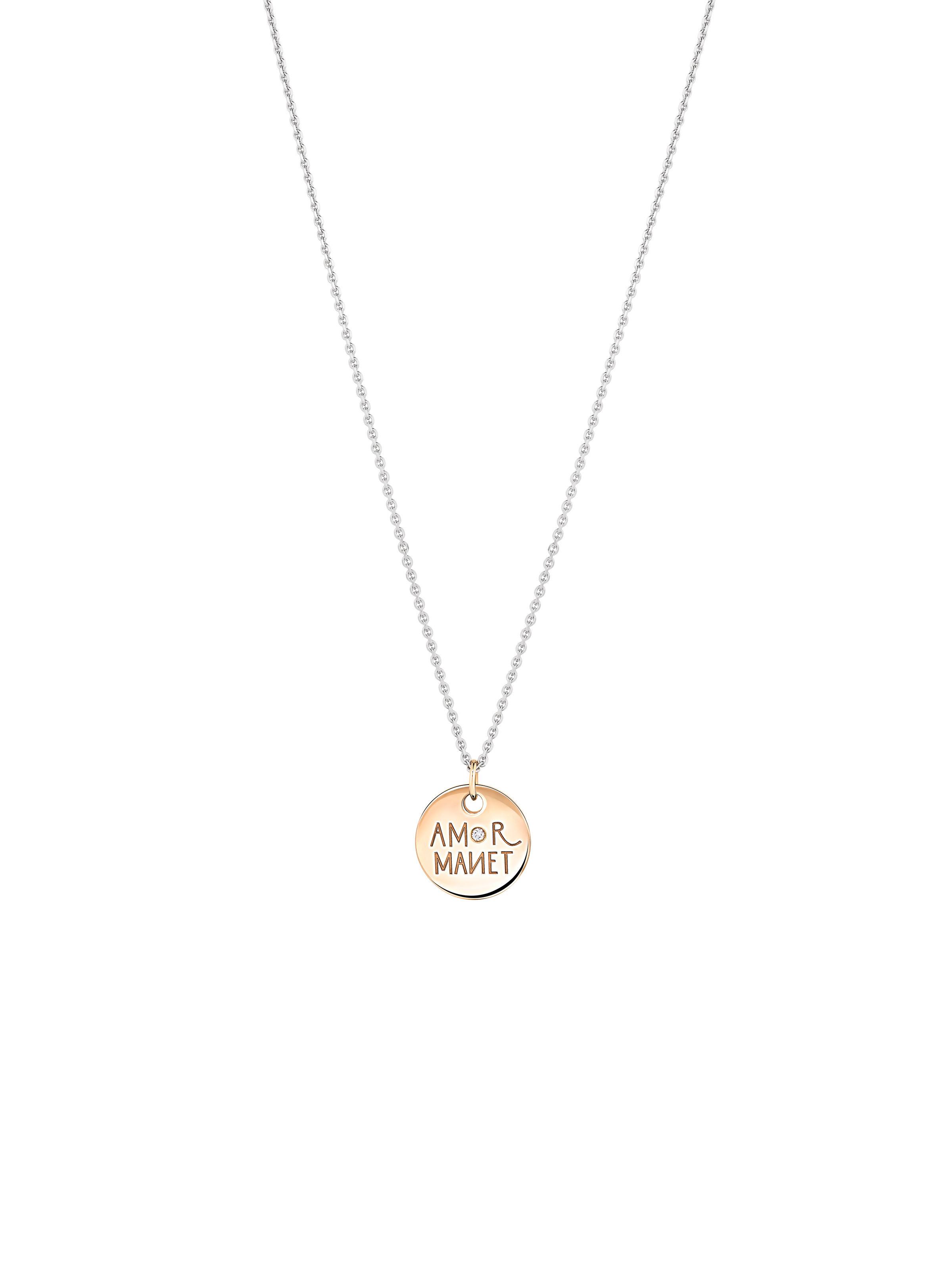 Lucky Amor Manet pendant