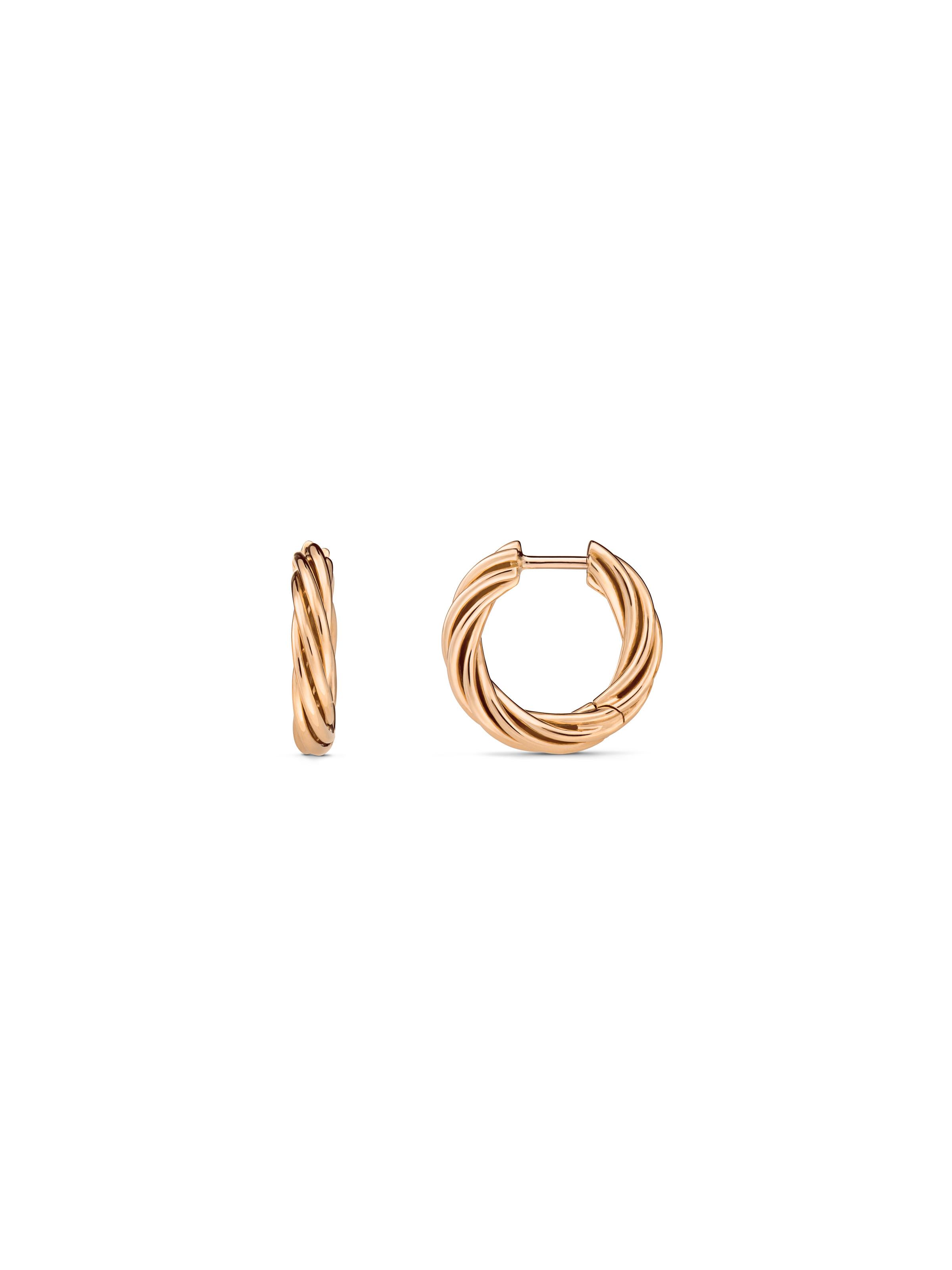 Helioro XS hoop earrings