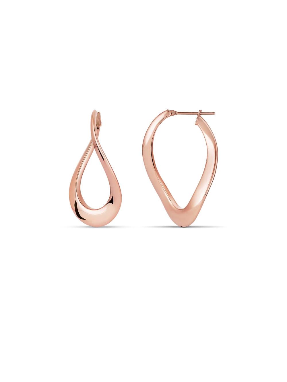 Electrify hoop earrings
