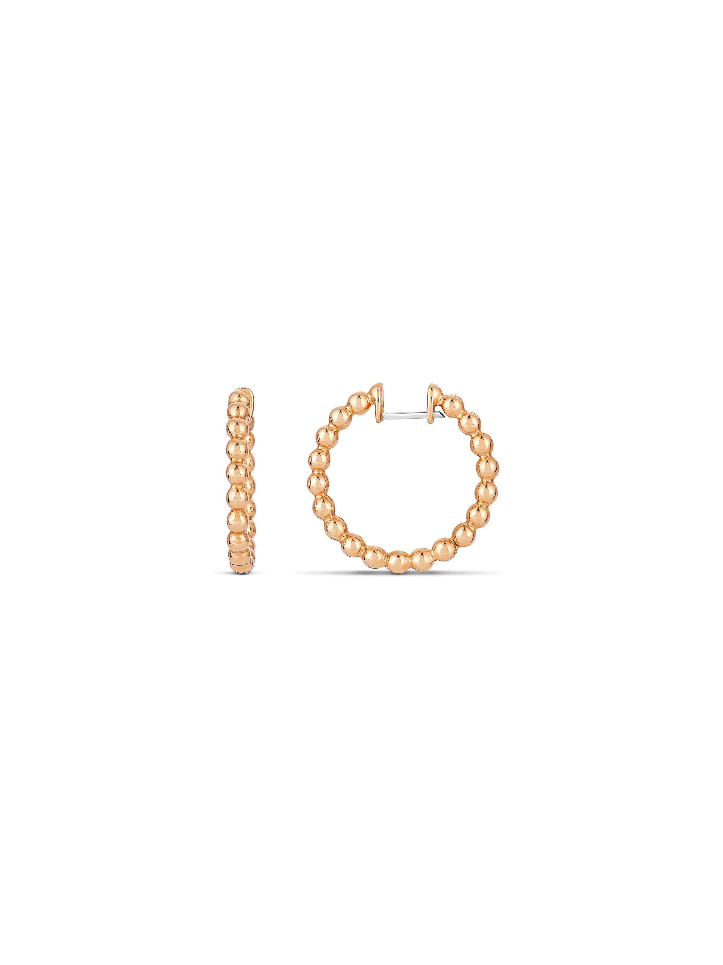 Blu XS hoop earrings