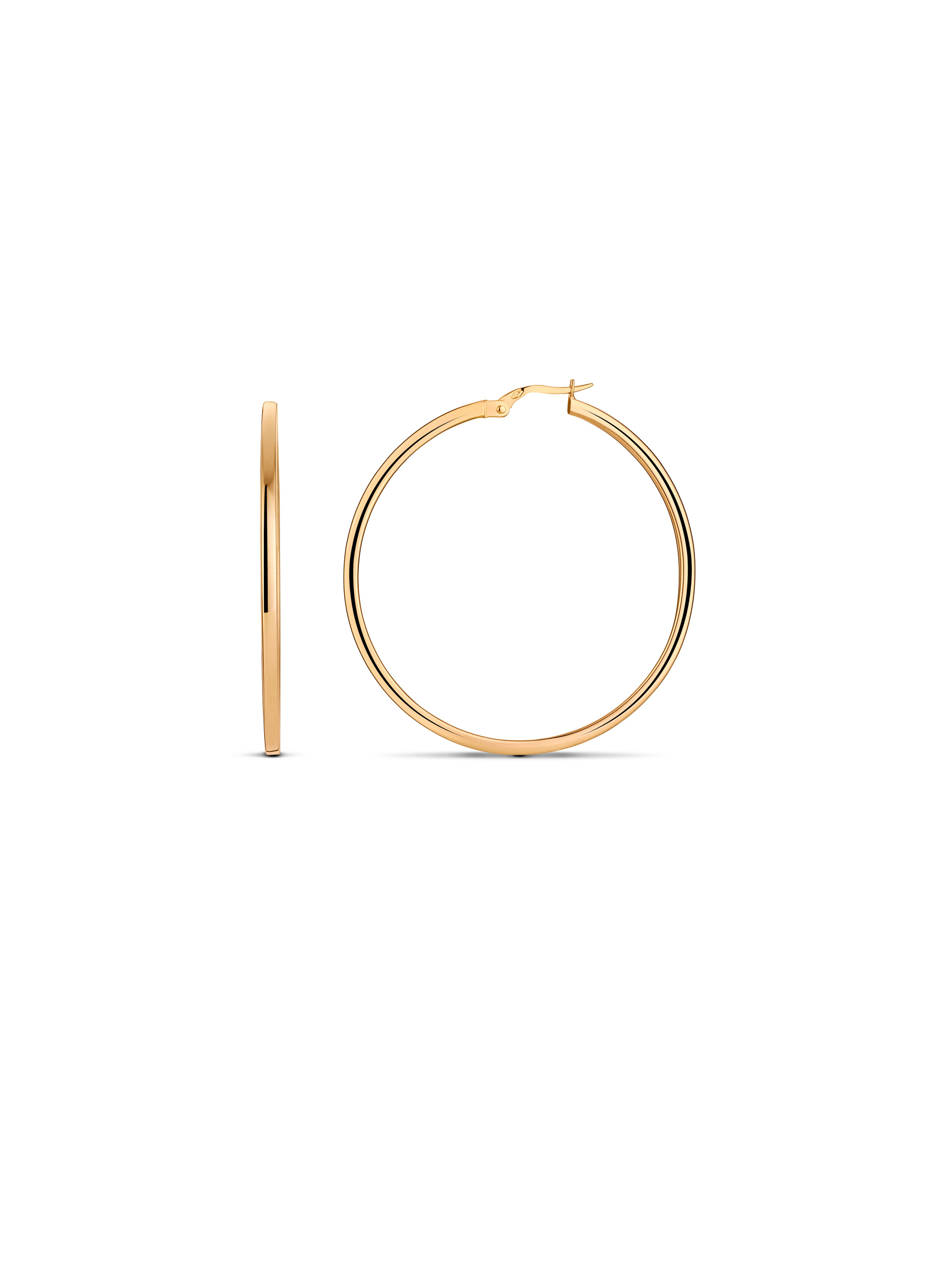 Minimalism hoop earrings