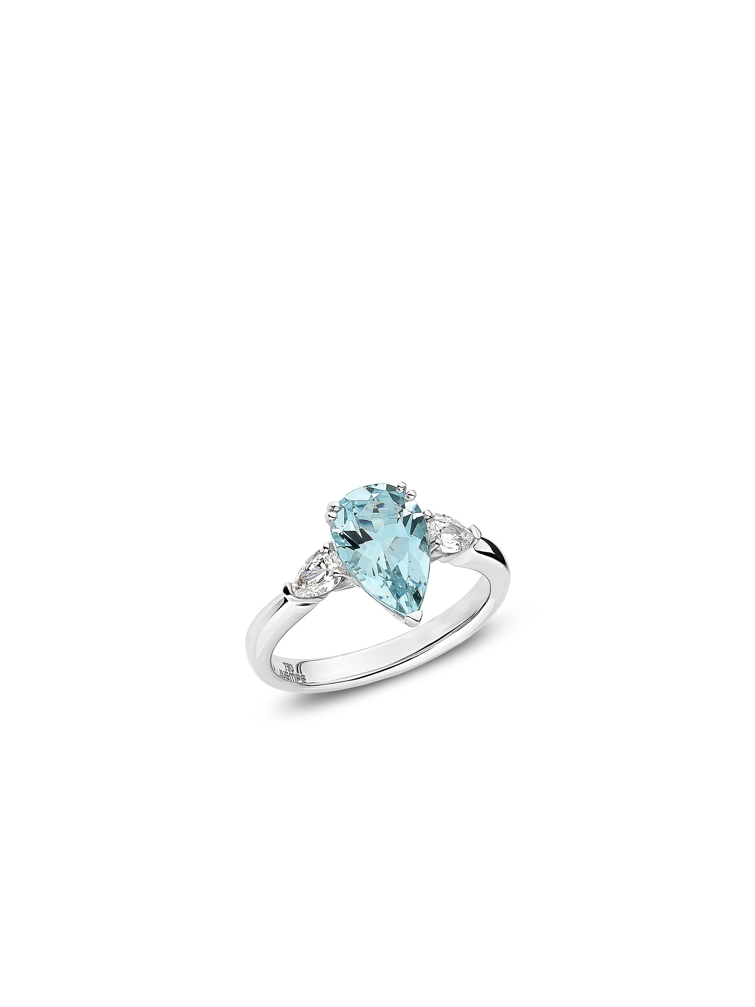 Ring One Aquamarine