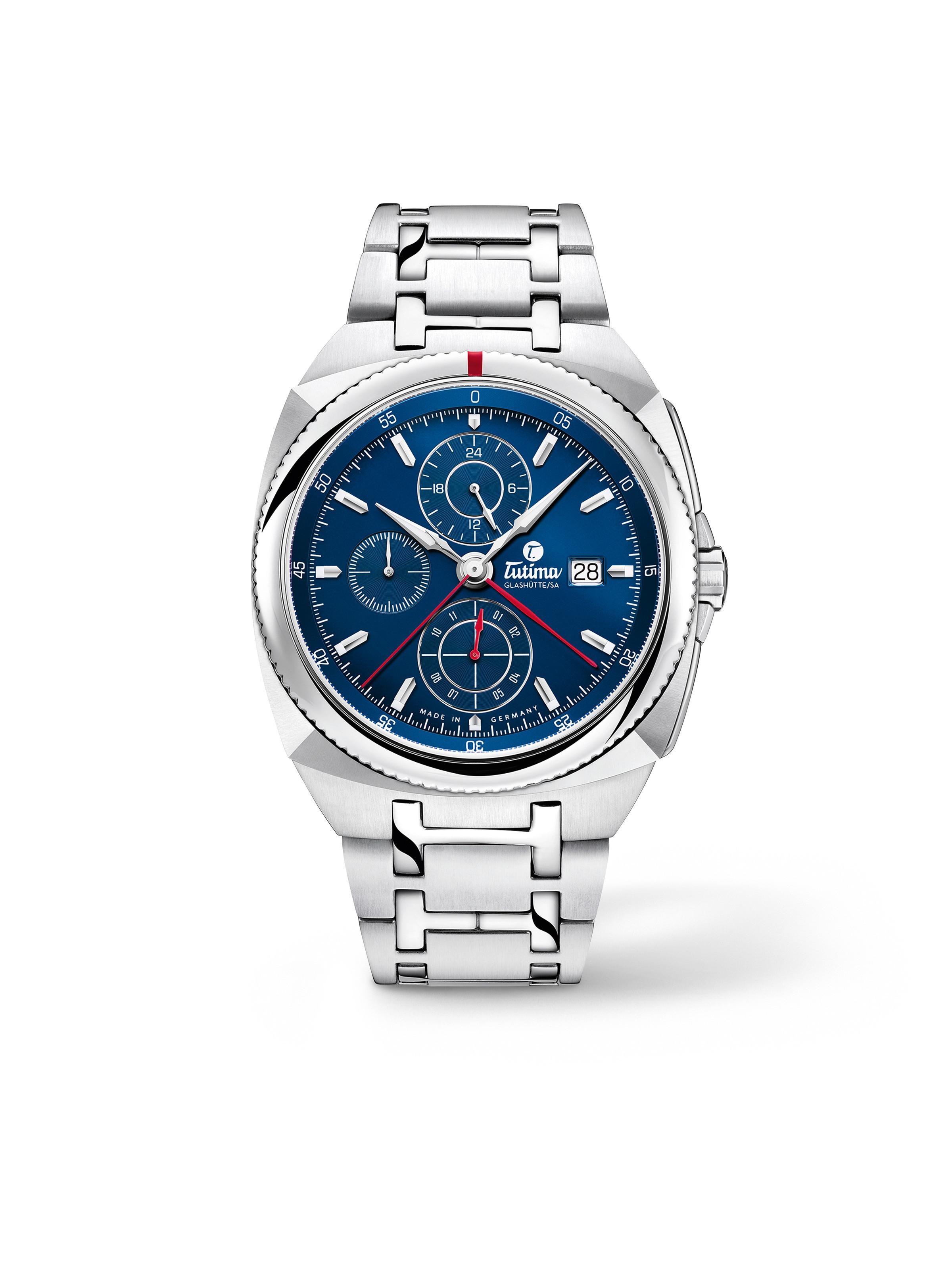 Saxon One Chronograph Royal Blue