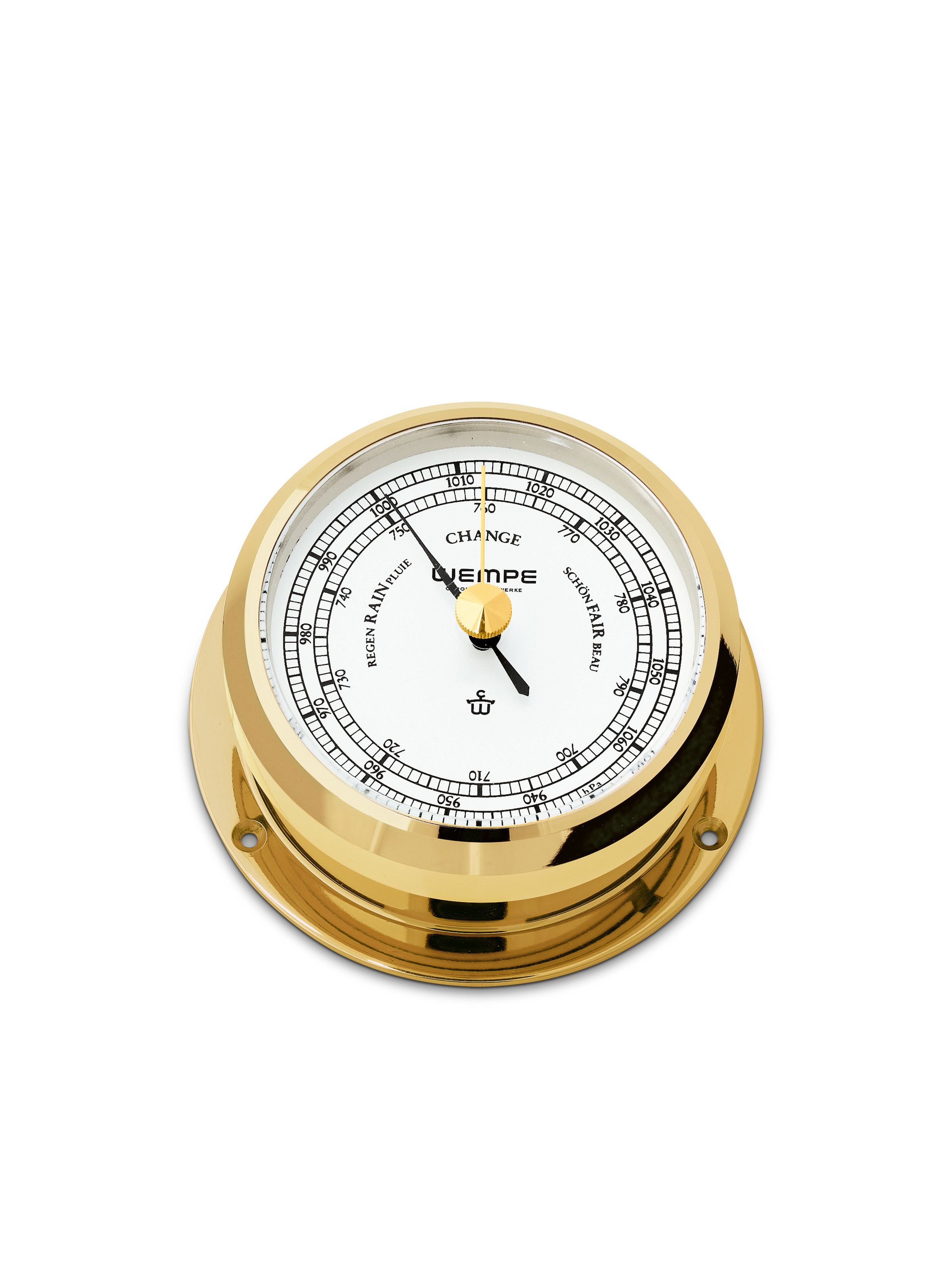 Barometer PIRAT II brass
