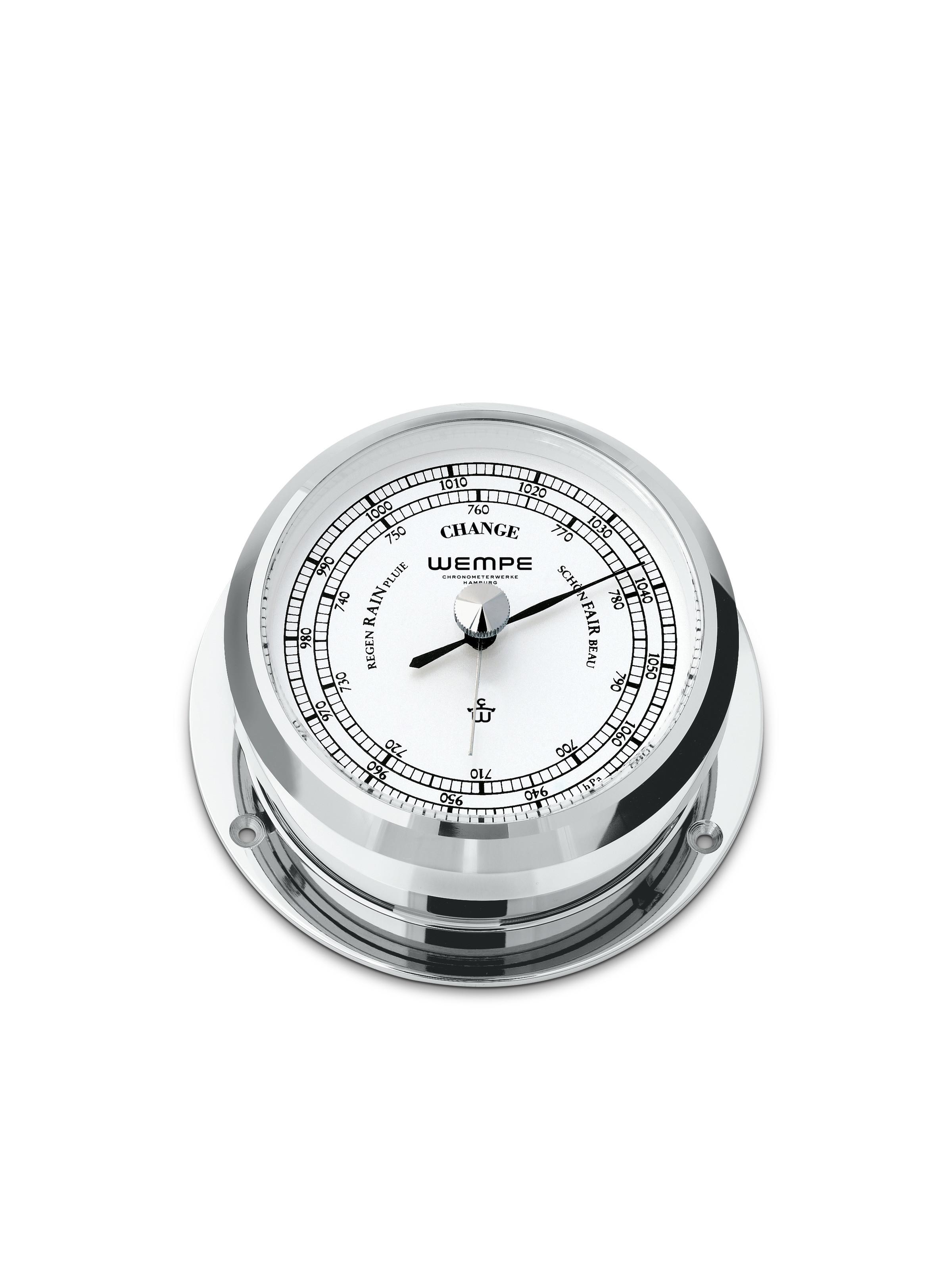 Barometer PIRAT II Chrome-plated brass