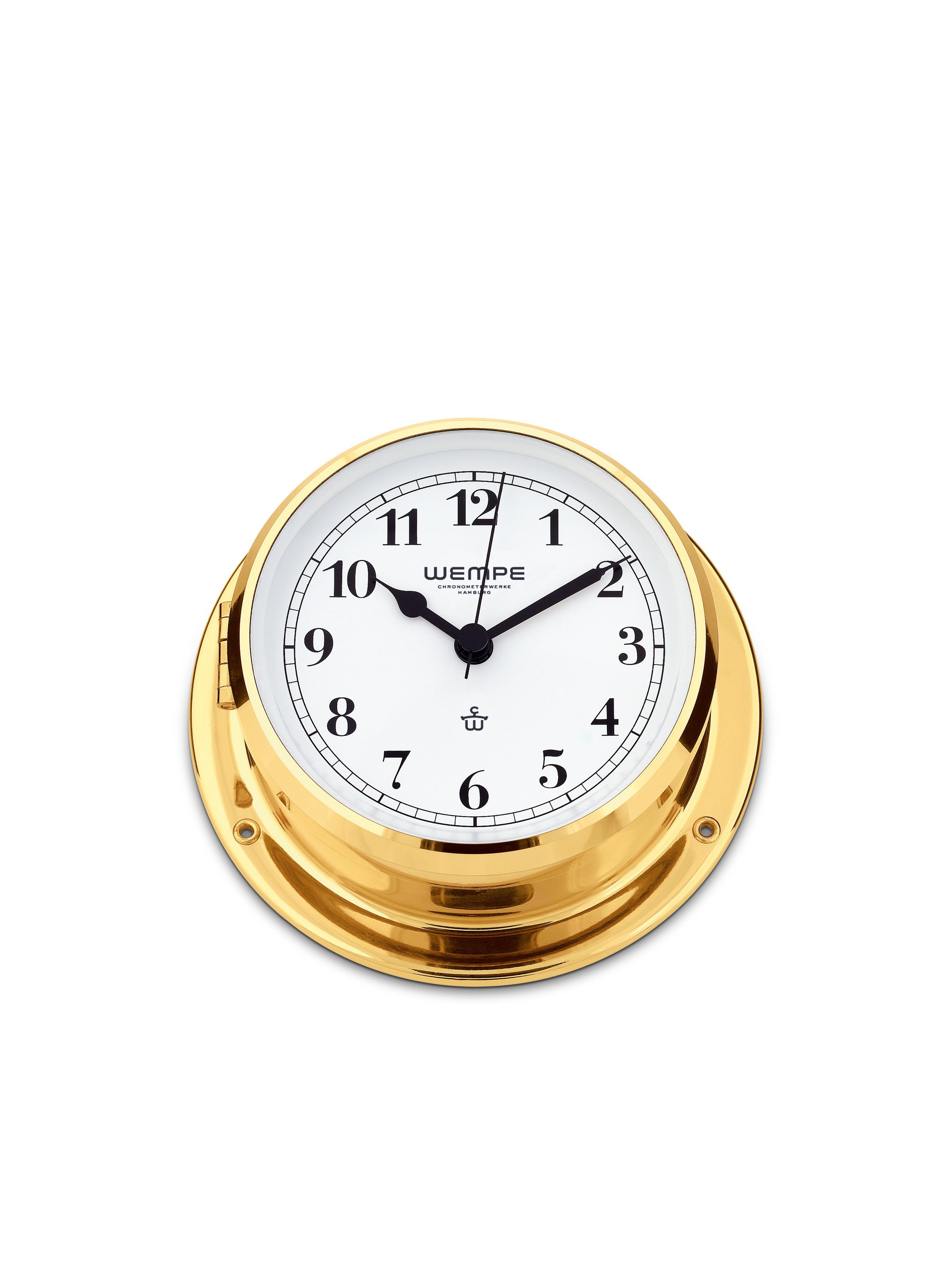 Ship's clock SKIFF brass