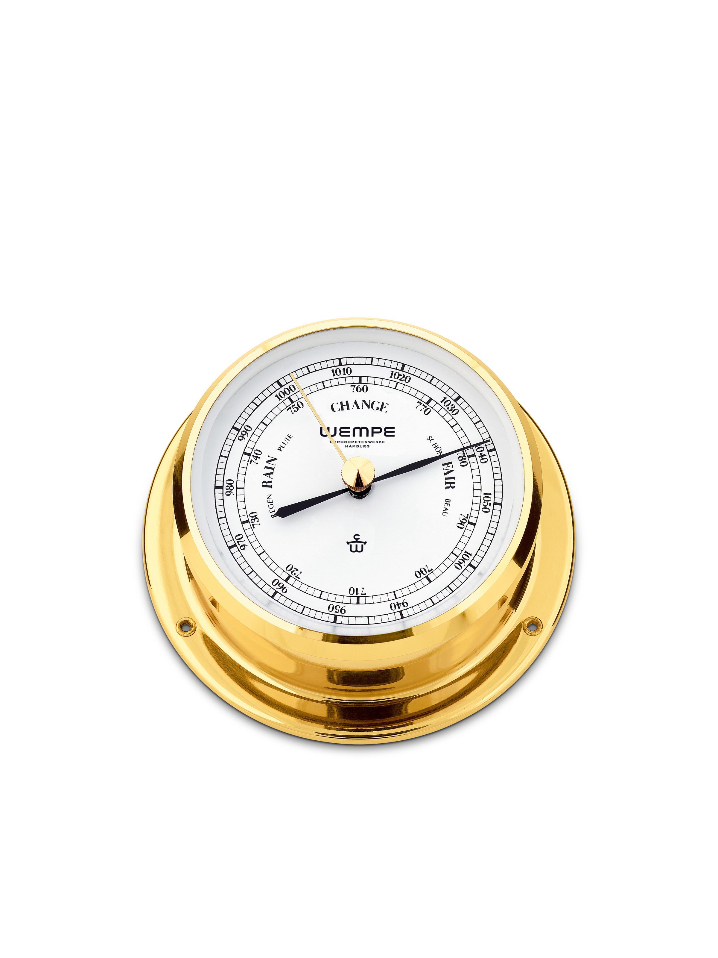 Barometer SKIFF brass