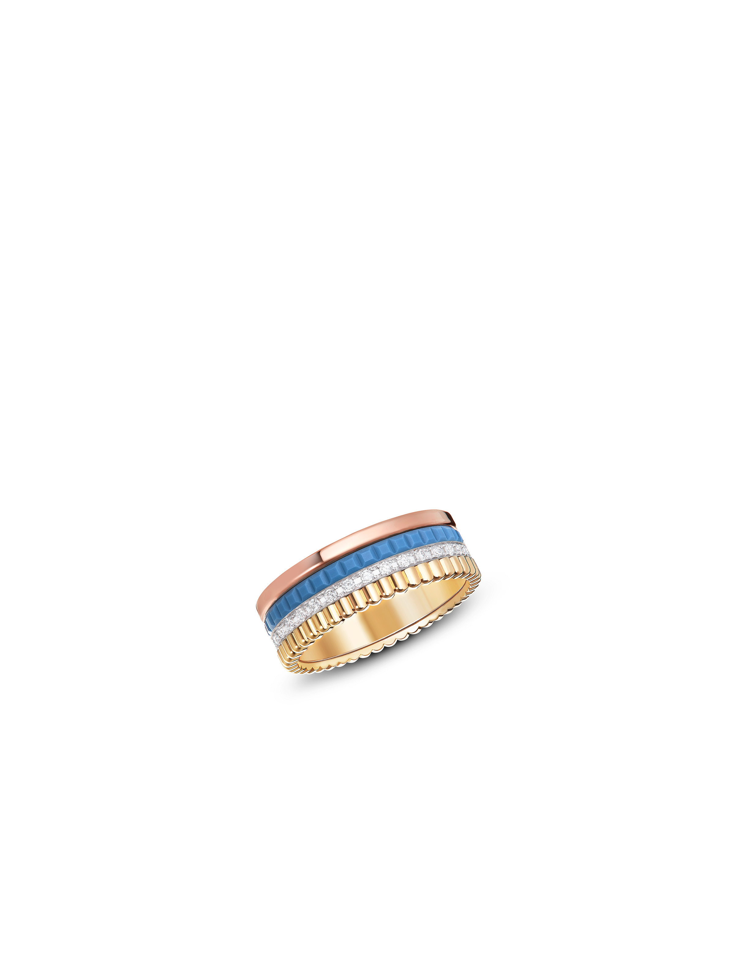 Quatre Blue Edition ring
