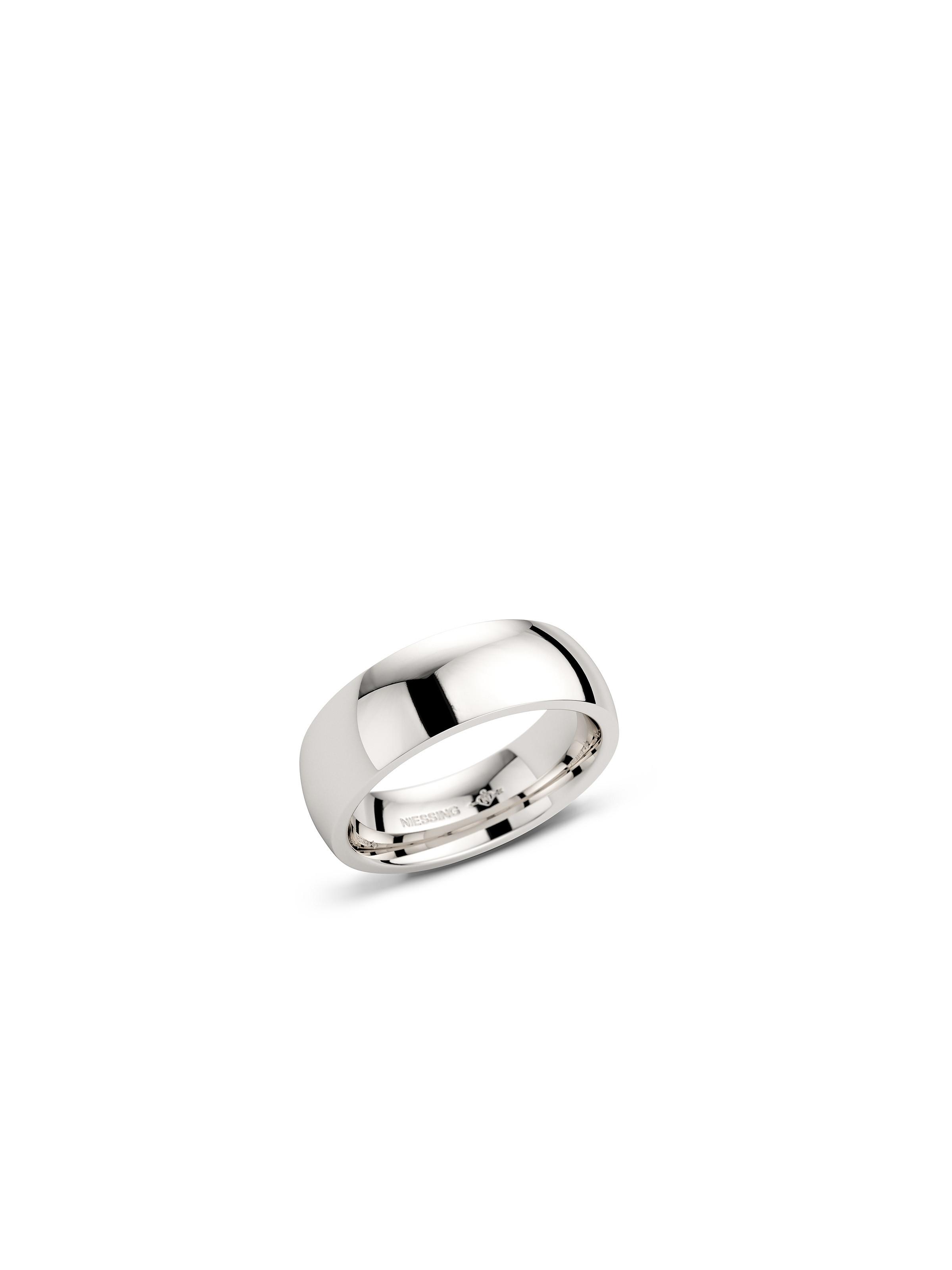 Tonneau wedding ring polished