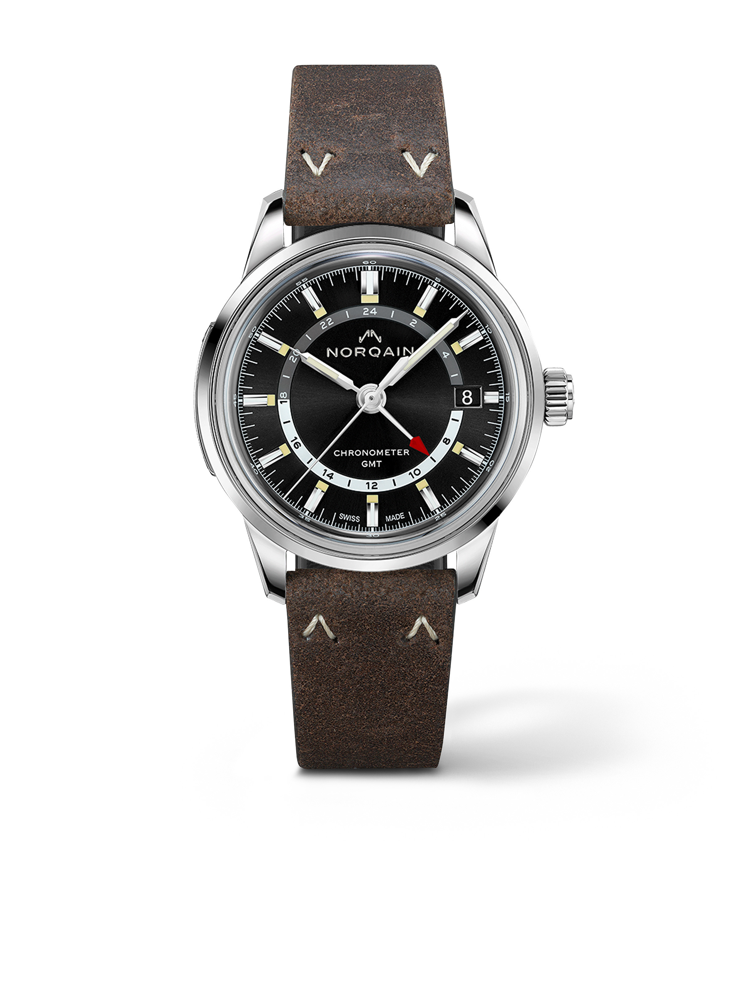 Freedom 60 GMT - Black Dial