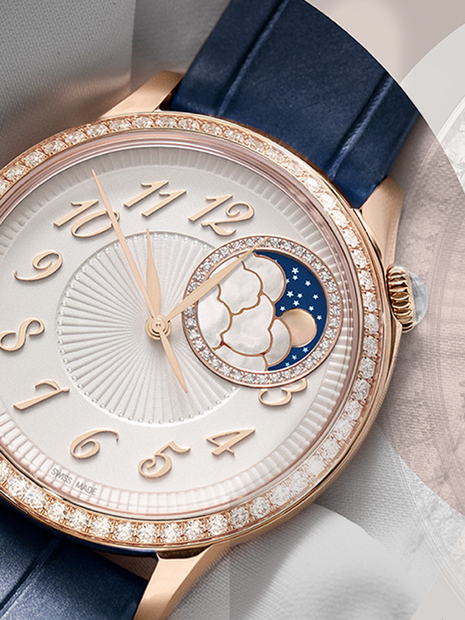 Die Vacheron Constantin Égérie -<br> Die Uhr für einen außergewöhnlichen Auftritt