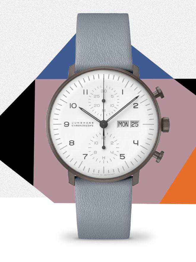 Junghans max bill<br> Eine neue Ikone in Black & White.