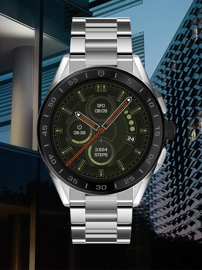 Die TAG Heuer Connected<br>Diese Luxus-Smartwatch erfüllt höchste Ansprüche.