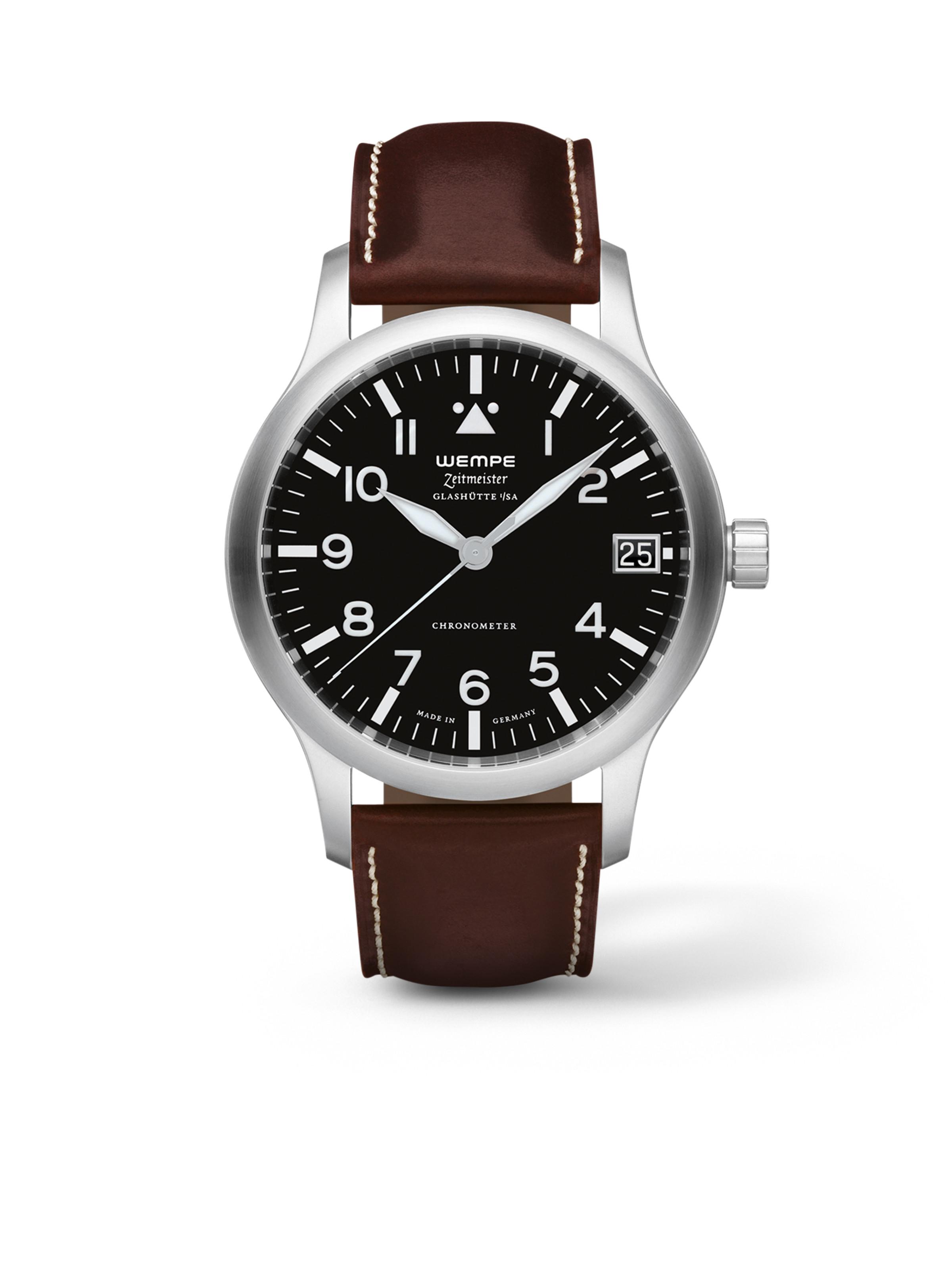 Zeitmeister Aviator Watch Automatic XL