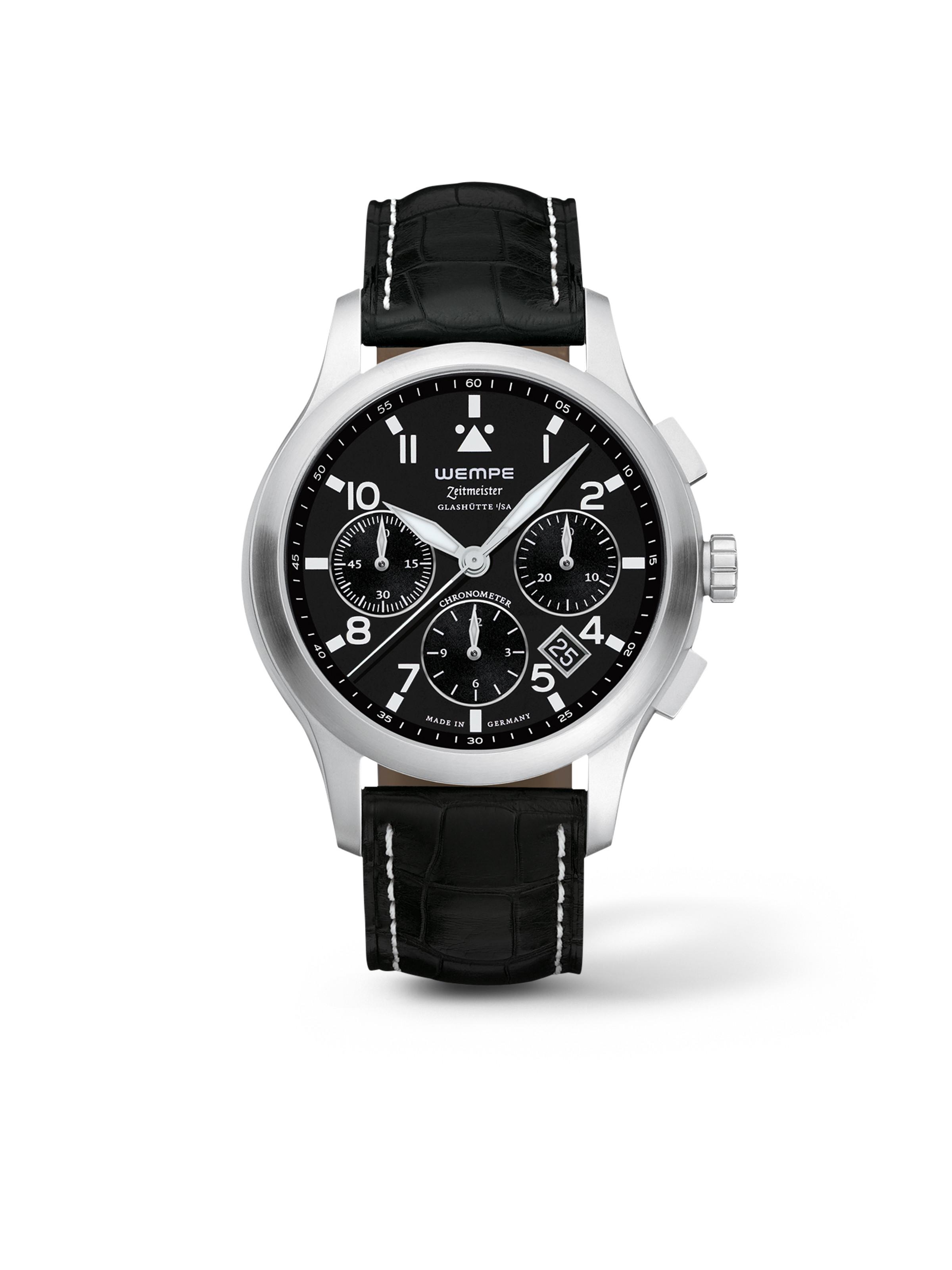 Zeitmeister Aviator Watch Chronograph