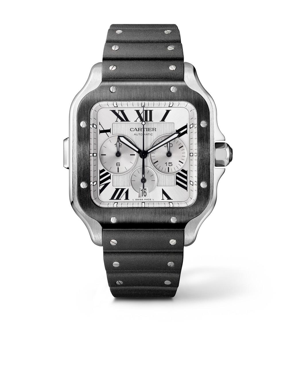 Santos de Cartier Chronograph - XL Modell 01