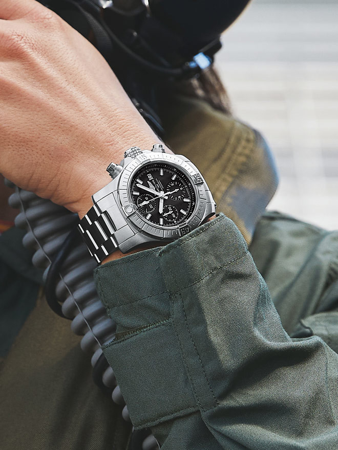 Eine Uhr für Pioniere –<br> Die neue Breitling Avenger