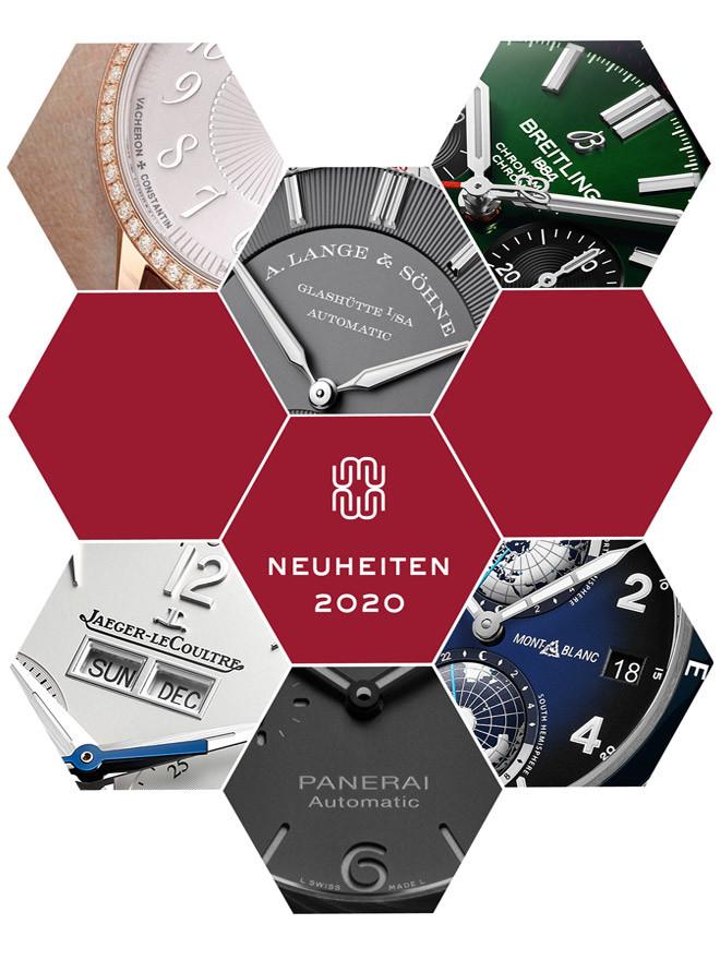 Uhren Neuheiten 2020:<br>die neuesten Modelle.