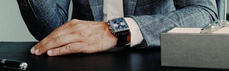 Die perfekte Uhr zum Business-Outfit