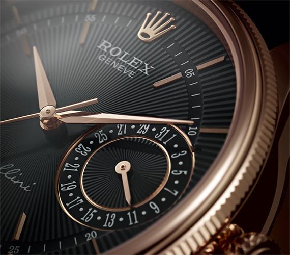 Datumsanzeige der Rolex cellini