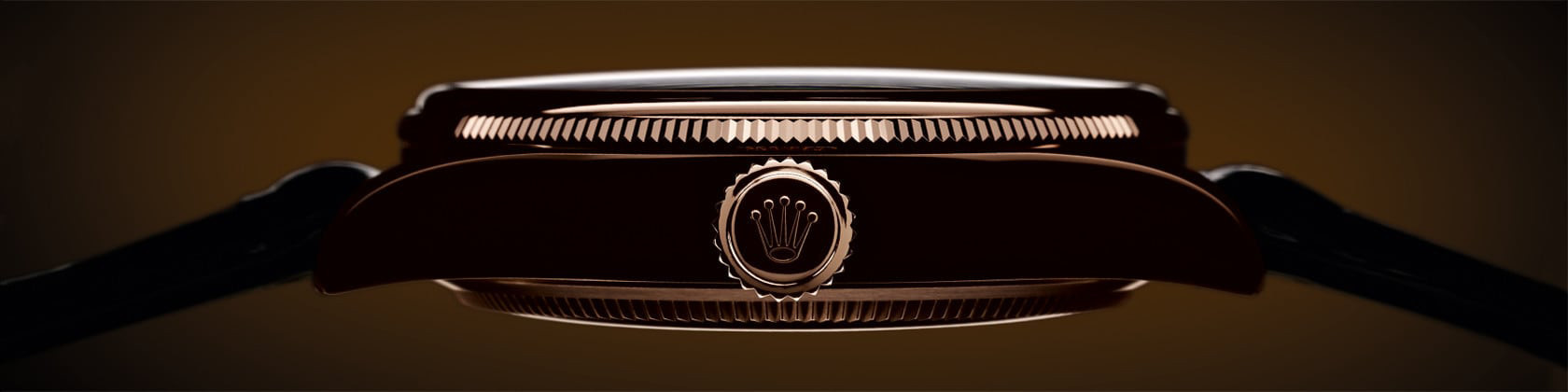 Seitenansicht einer Rolex Cellini