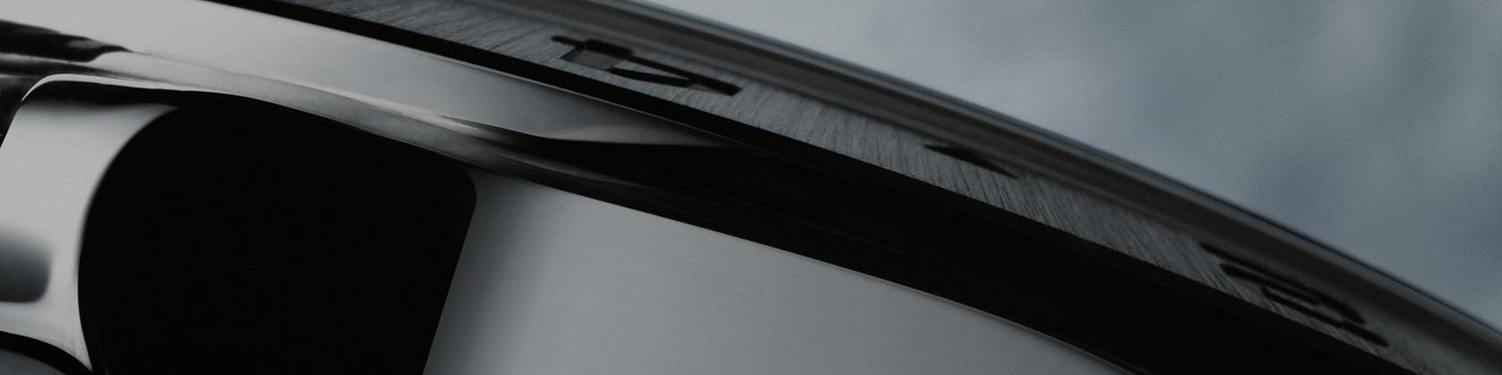 Detailaufnahme eines Rolex Explorer Gehäuse
