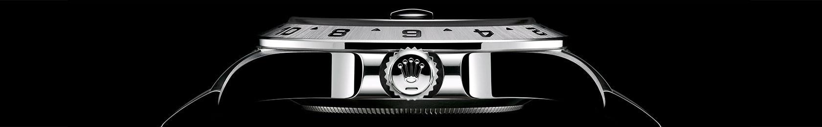 Seitenansicht der Rolex Explorer
