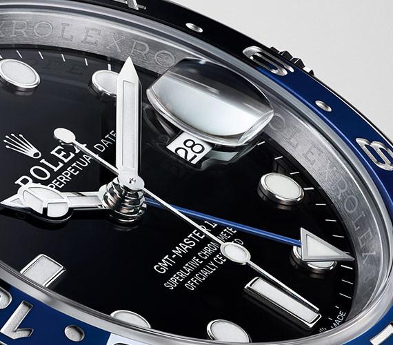 Frontansicht einer Rolex GMT-Master II