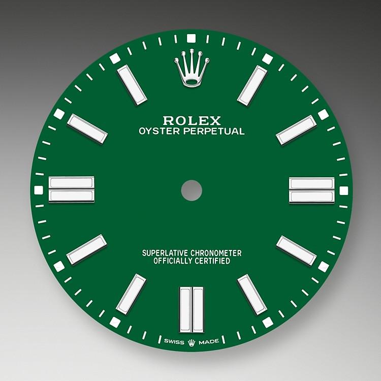 La esfera es el rostro distintivo de un reloj Rolex, el mayor responsable de su identidad y legibilidad.