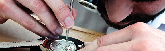 Wartung, Reparaturen und weitere Services für Ihren Zeitmesser