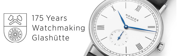 Nomos Glashütte Ludwig - 175 Years Watchmaking