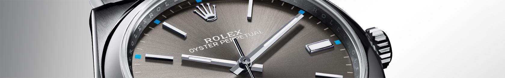 Rolex Oyster-Perpetual Zifferblatt