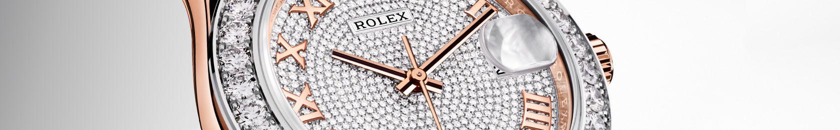 Rolex Pearlmaster Zifferblatt mit Diamanten