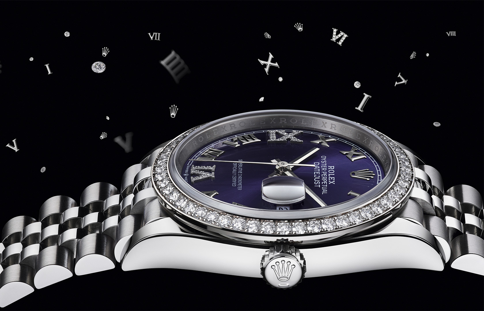 Rolex Uhr aus der Festive Collection