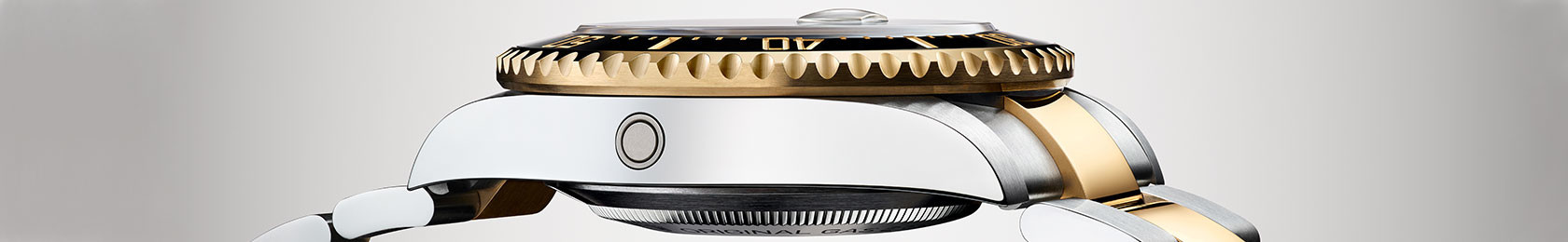 Seitenansicht einer Rolex Sea-Dweller