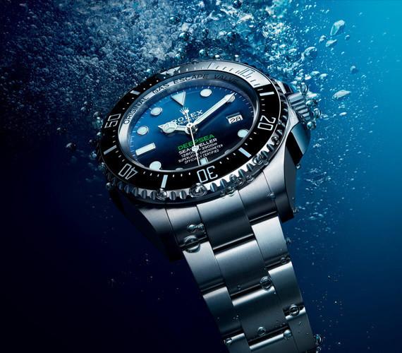 Rolex Sea-Dweller unter Wasser