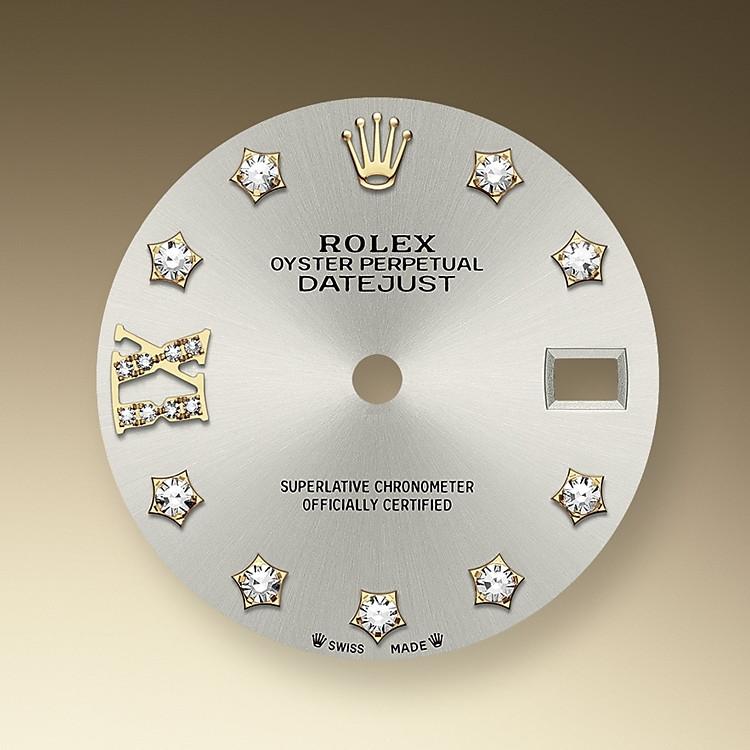 En relojería, el acabado tipo rayos de sol en las esferas Rolex es un método predominante para conseguir esferas de un color metálico puro, como tonos de gris plateado, rodio o rutenio.