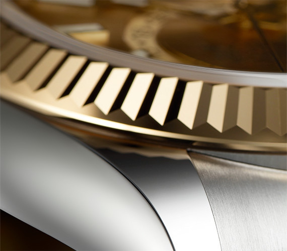 Lünette der Rolex Sky-Dweller