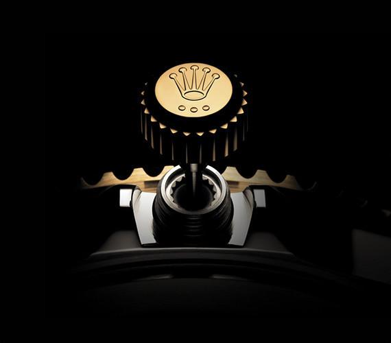 Aufzugskrone der Rolex Submariner
