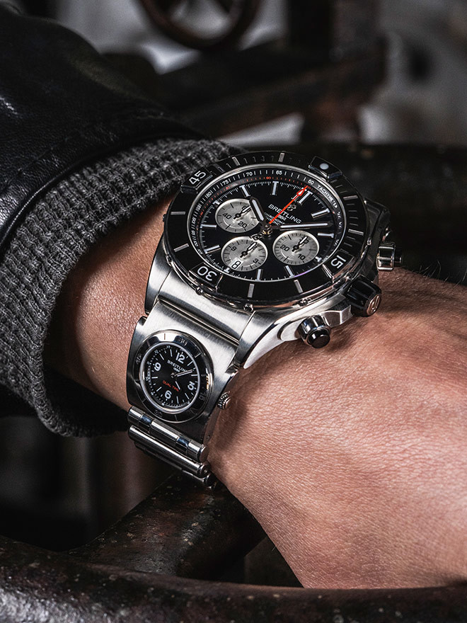 The history behind <br />Breitling's chronographs