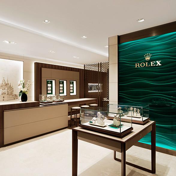 Kim-Eva Wempe eröffnet die Rolex Boutique