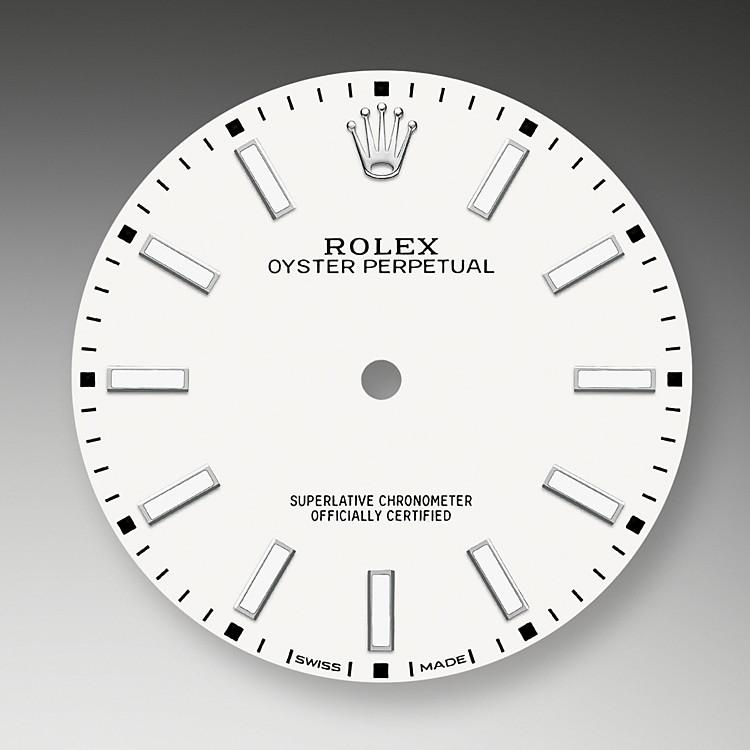 Das Zifferblatt verleiht einer Rolex Armbanduhr ein Gesicht sowie eine eigene Identität und sorgt überdies für perfekte Ablesbarkeit.